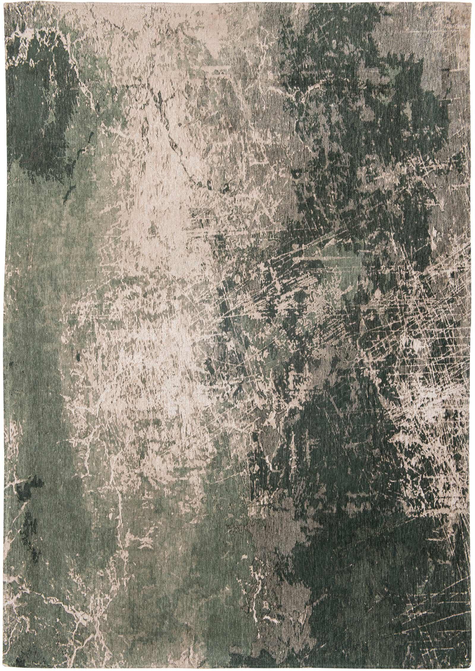 rugs Louis De Poortere LX8723 Mad Men Cracks Dark Pine