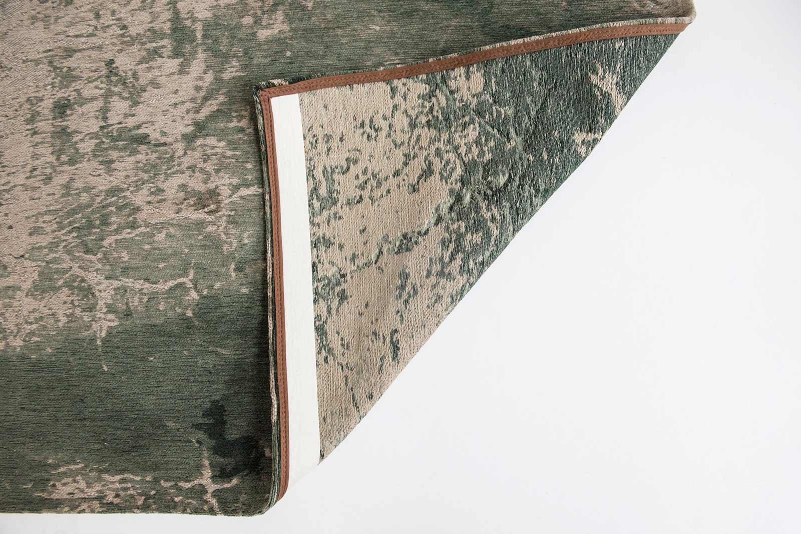 rugs Louis De Poortere LX8723 Mad Men Cracks Dark Pine back