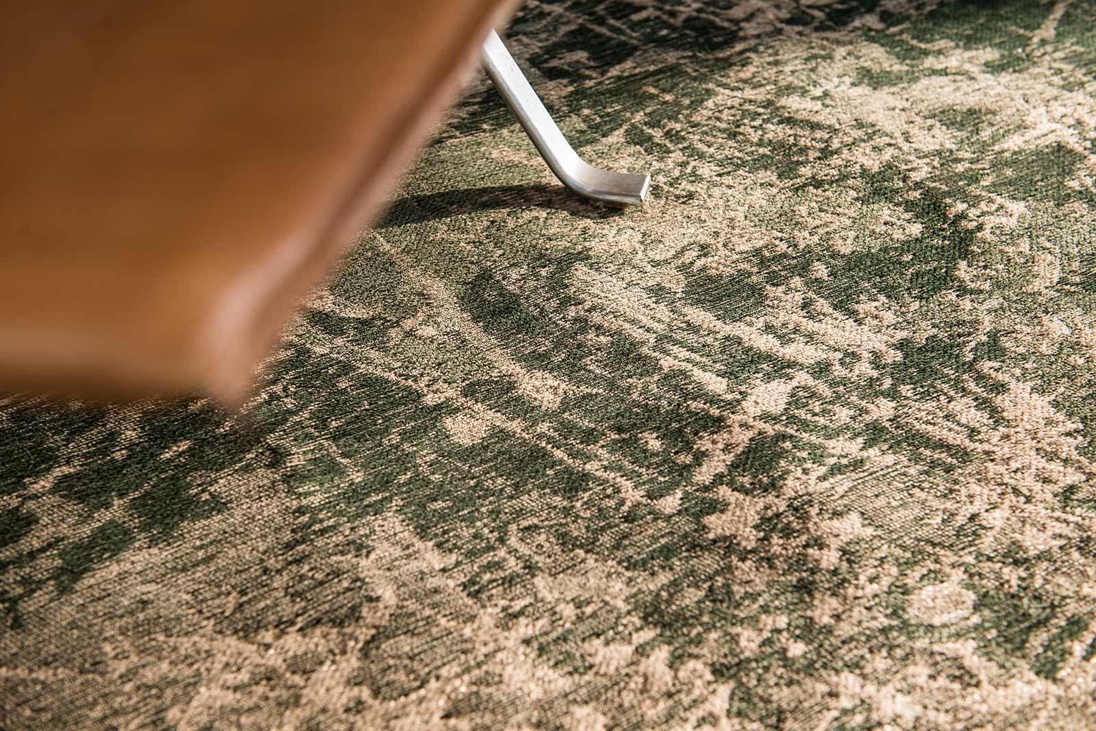 rugs Louis De Poortere LX8723 Mad Men Cracks Dark Pine interior 2