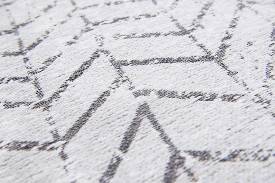 rugs Louis De Poortere LX8652 Mad Men Jacobs Ladder Black on White zoom