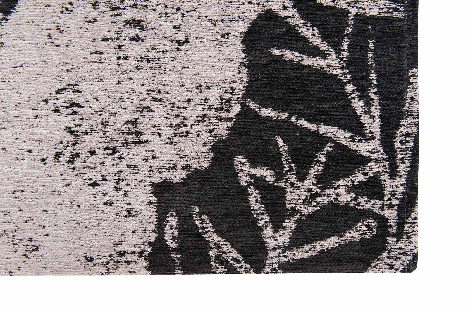Louis De Poortere rugs Romo LX 8741 Lomasi Charcoal corner