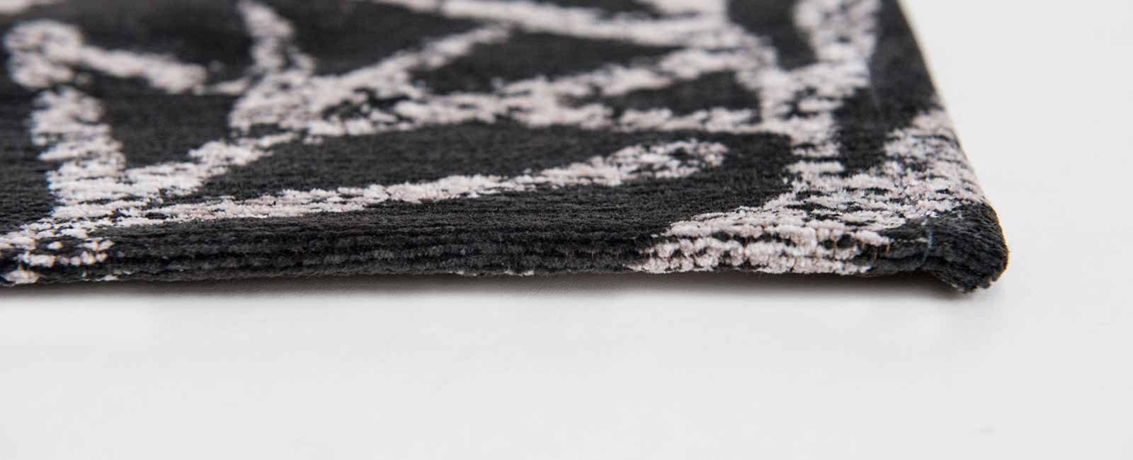 Louis De Poortere rugs Romo LX 8741 Lomasi Charcoal side