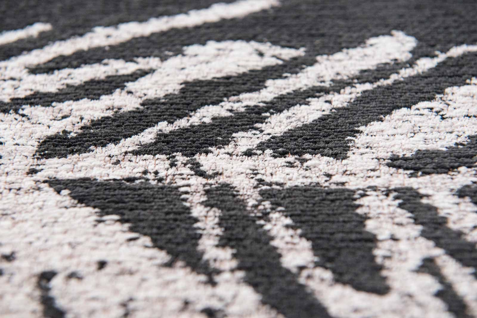 Louis De Poortere rugs Romo LX 8741 Lomasi Charcoal zoom 2