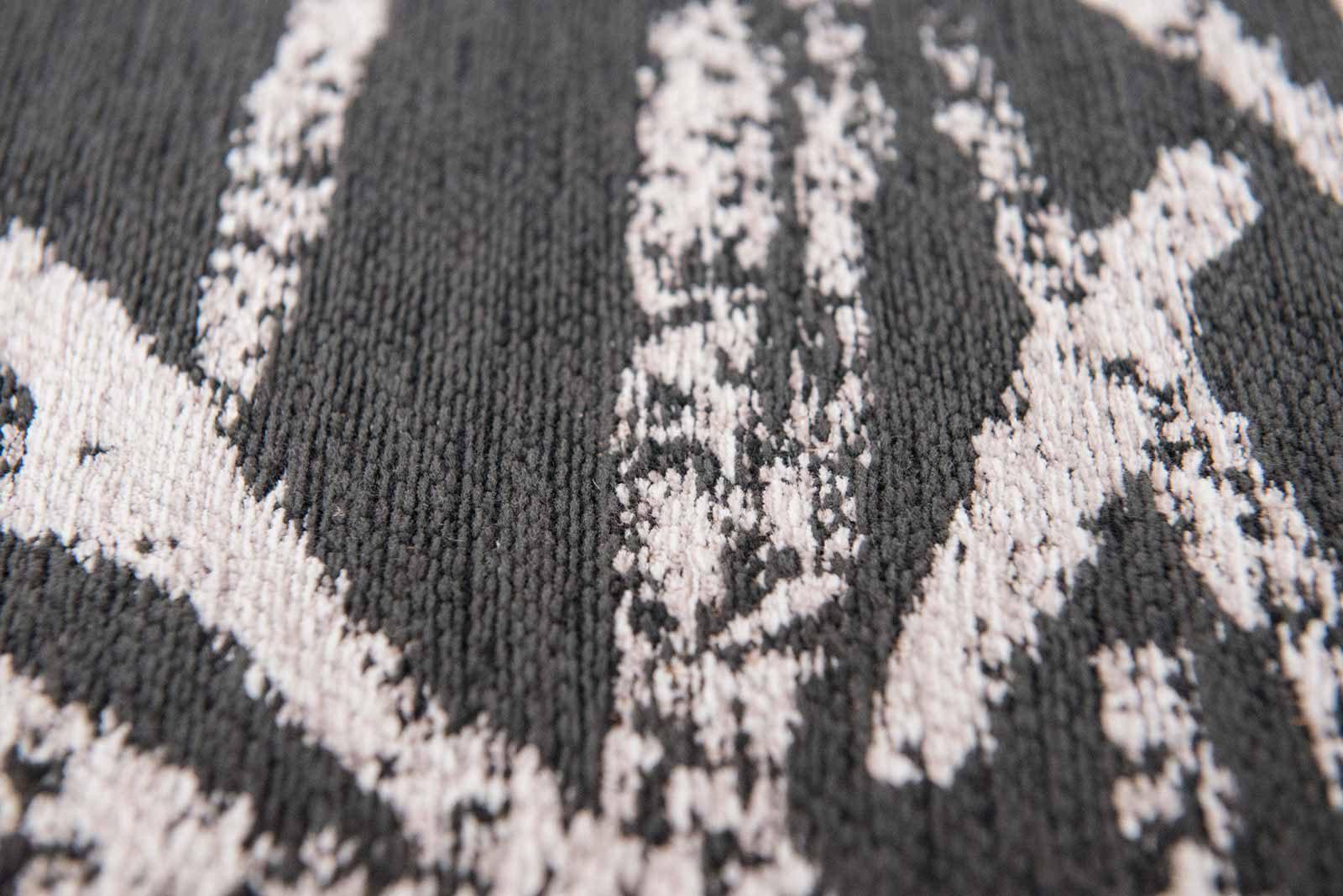 Louis De Poortere rugs Romo LX 8741 Lomasi Charcoal zoom 4