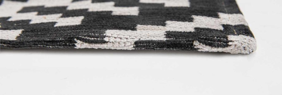 Louis De Poortere rugs Romo LX 8743 Nahli Charcoal side
