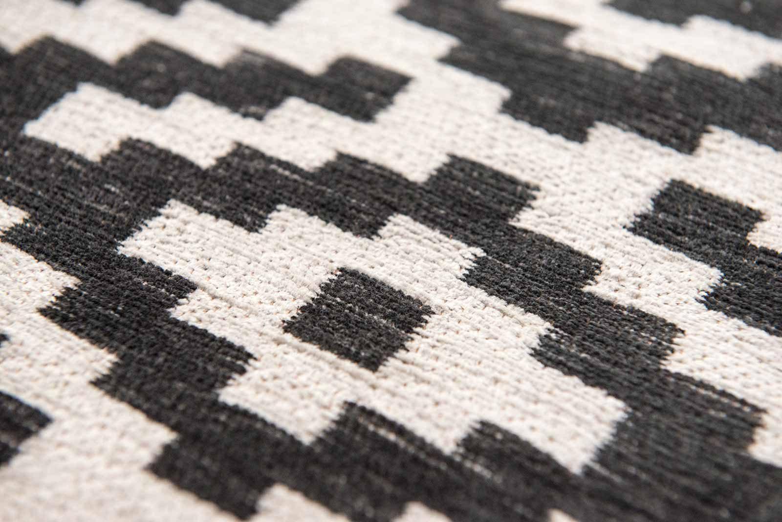 Louis De Poortere rugs Romo LX 8743 Nahli Charcoal zoom