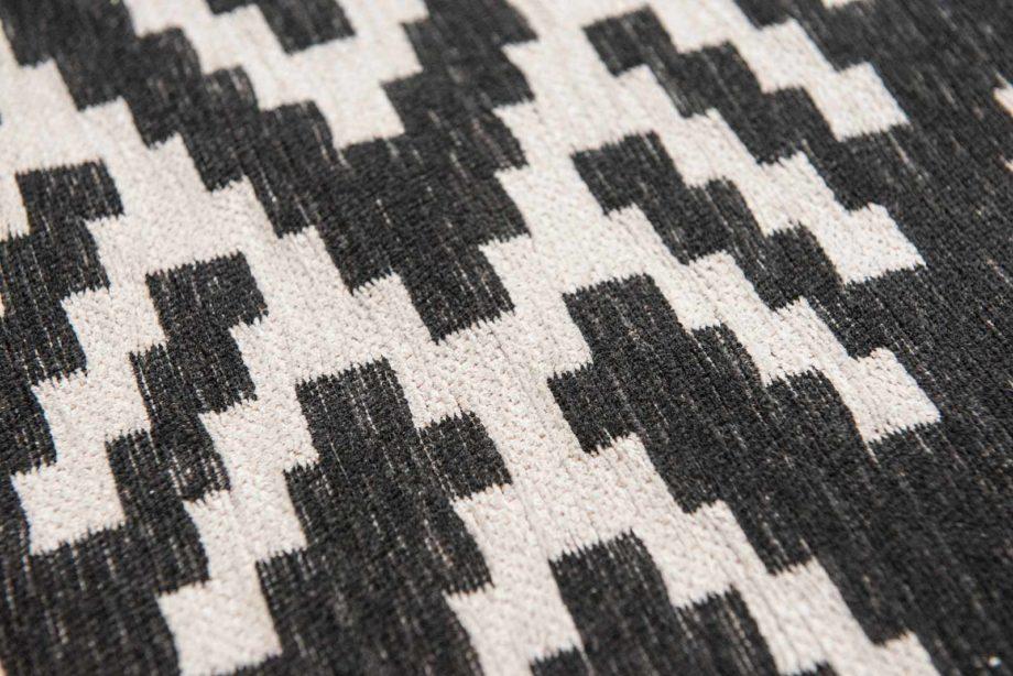 Louis De Poortere rugs Romo LX 8743 Nahli Charcoal zoom 2
