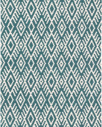 Louis De Poortere rugs Romo LX 8744 Nahli Kingfisher