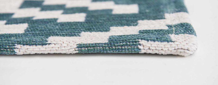 Louis De Poortere rugs Romo LX 8744 Nahli Kingfisher side