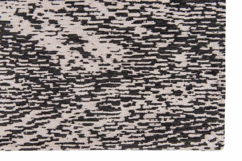 Louis De Poortere rugs Romo LX 8746 Itsuki Charcoal corner