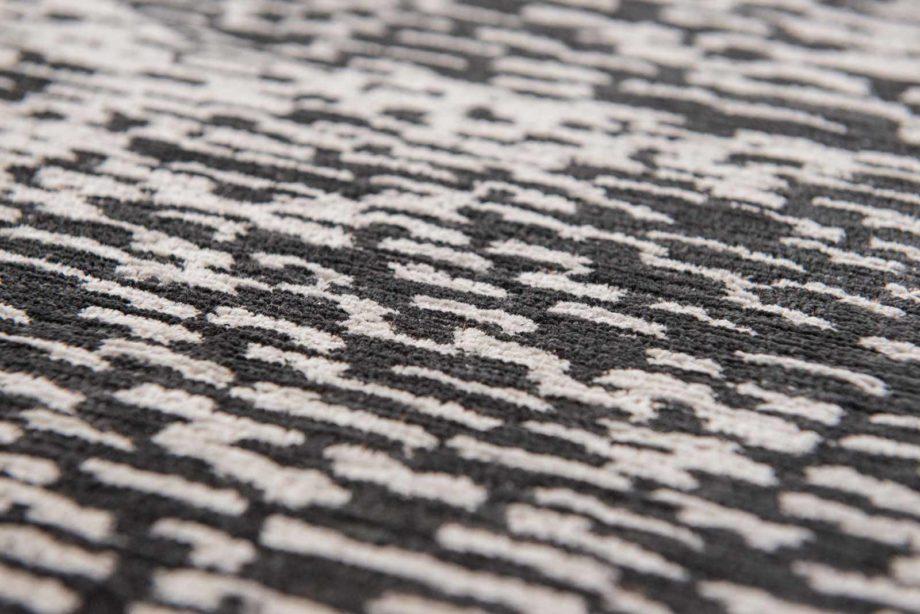 Louis De Poortere rugs Romo LX 8746 Itsuki Charcoal zoom 2