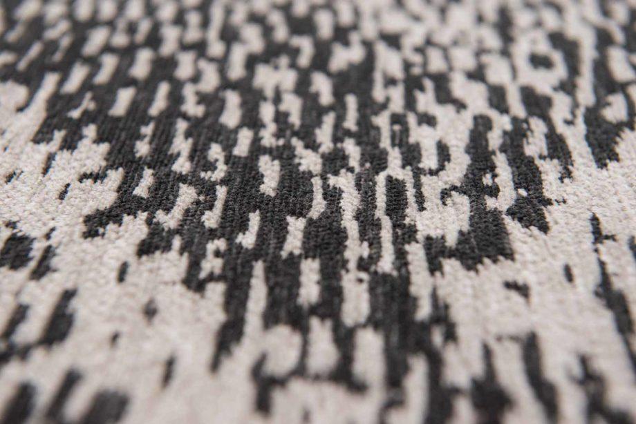 Louis De Poortere rugs Romo LX 8746 Itsuki Charcoal zoom 3