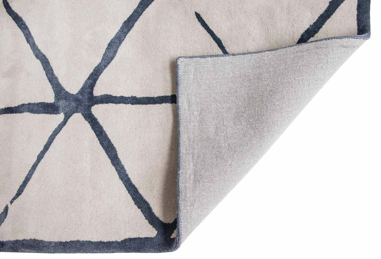 Louis De Poortere rugs Villa Nova LX 2015 Haldon Indigo back