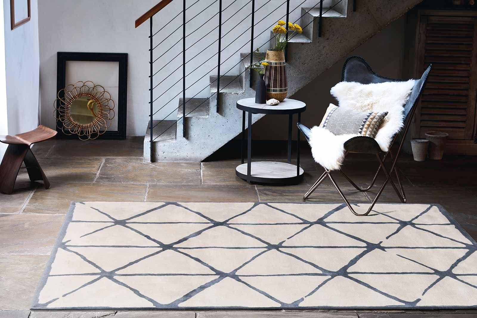 Louis De Poortere rugs Villa Nova LX 2015 Haldon Indigo interior