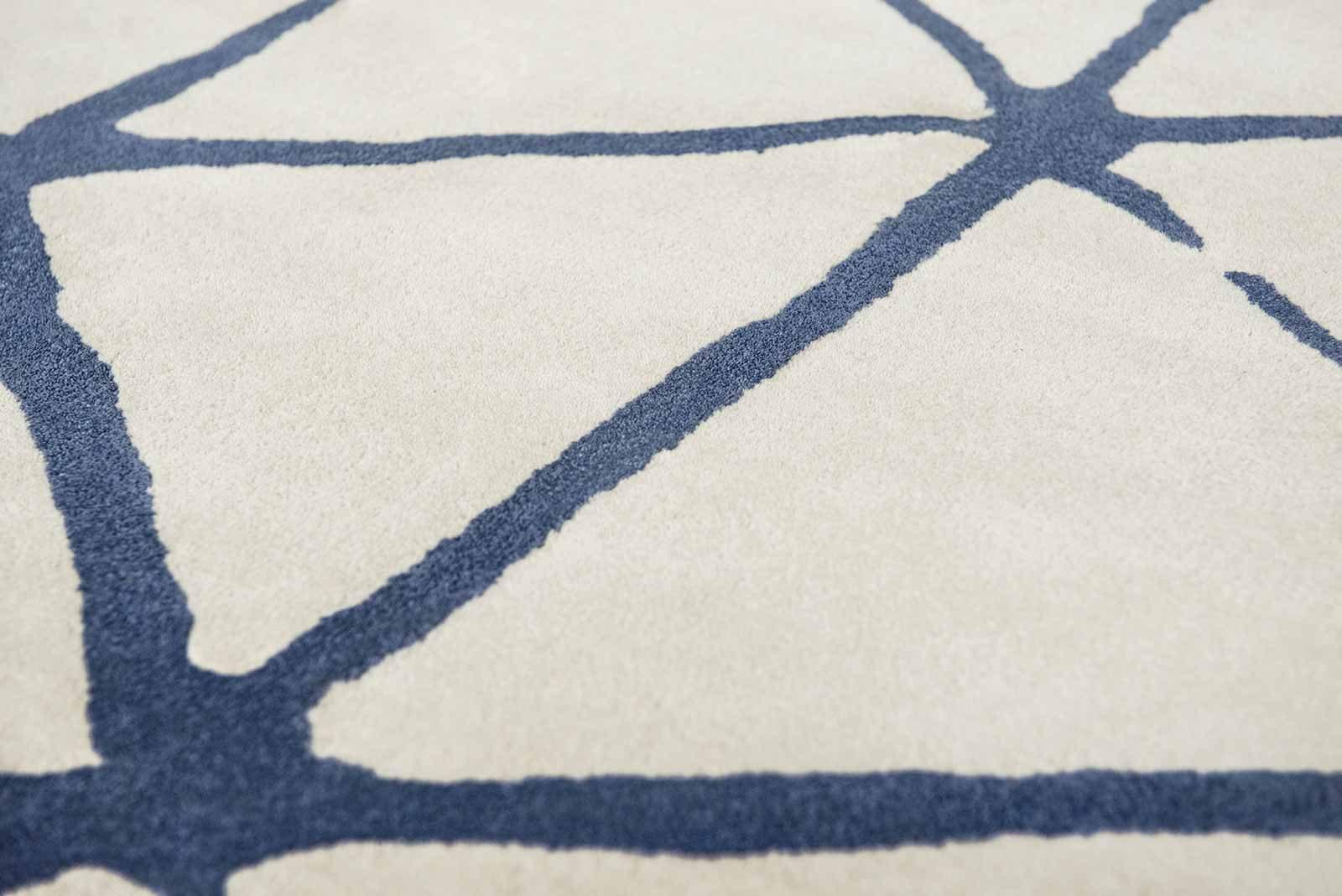 Louis De Poortere rugs Villa Nova LX 2015 Haldon Indigo zoom