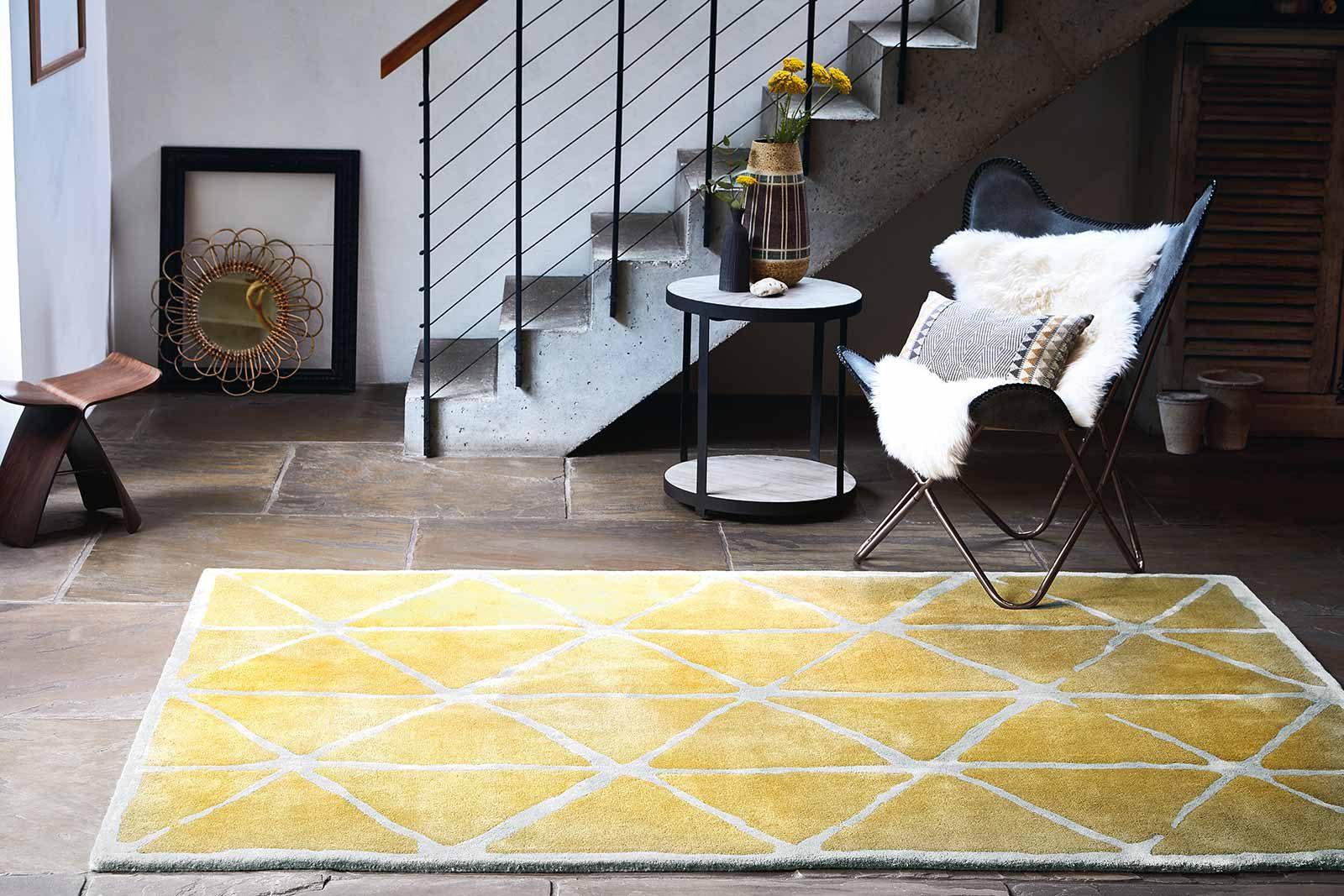Louis De Poortere rugs Villa Nova LX 2016 Haldon Ochre interior