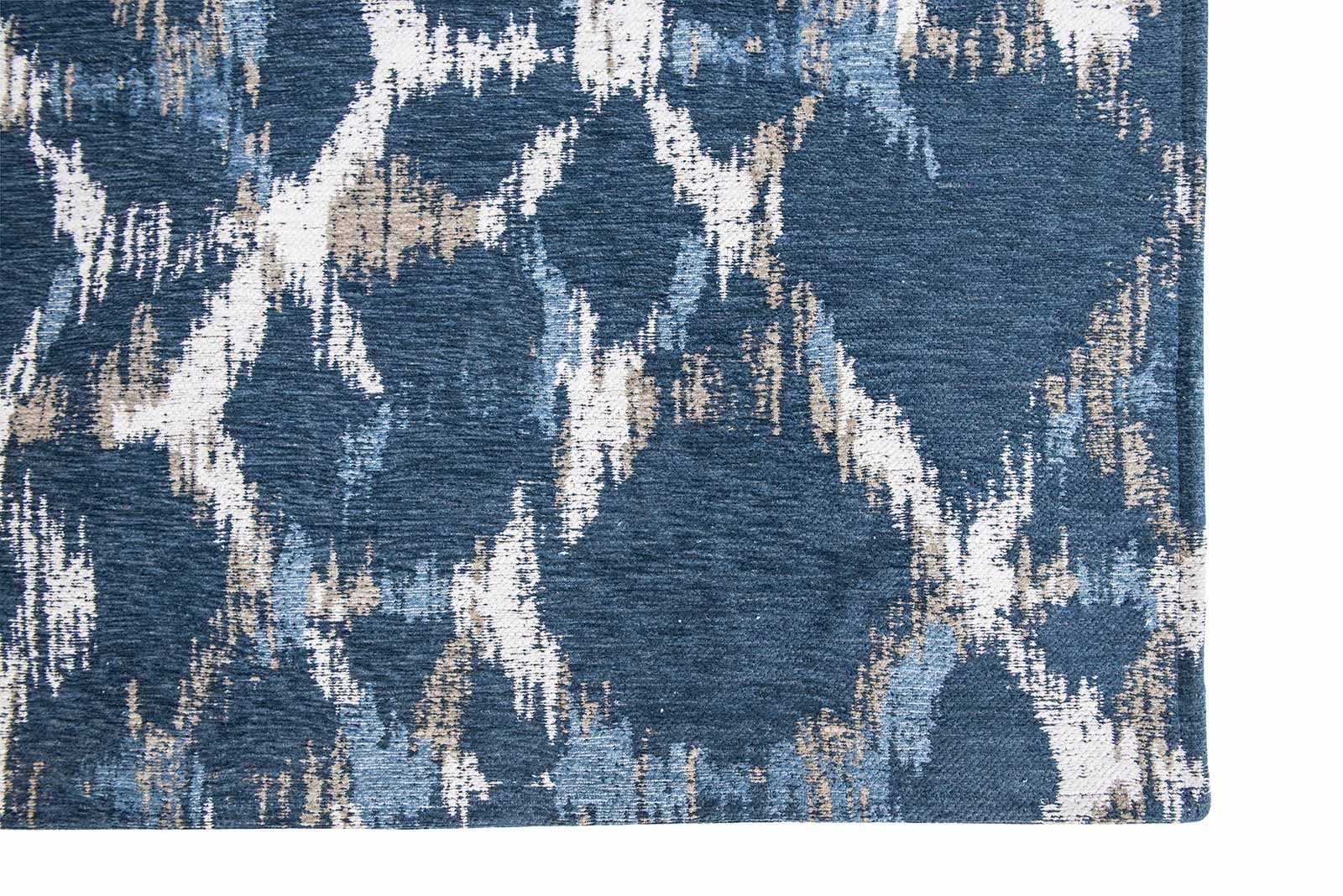 Louis De Poortere rugs Villa Nova LX 8750 Sudare Indigo corner