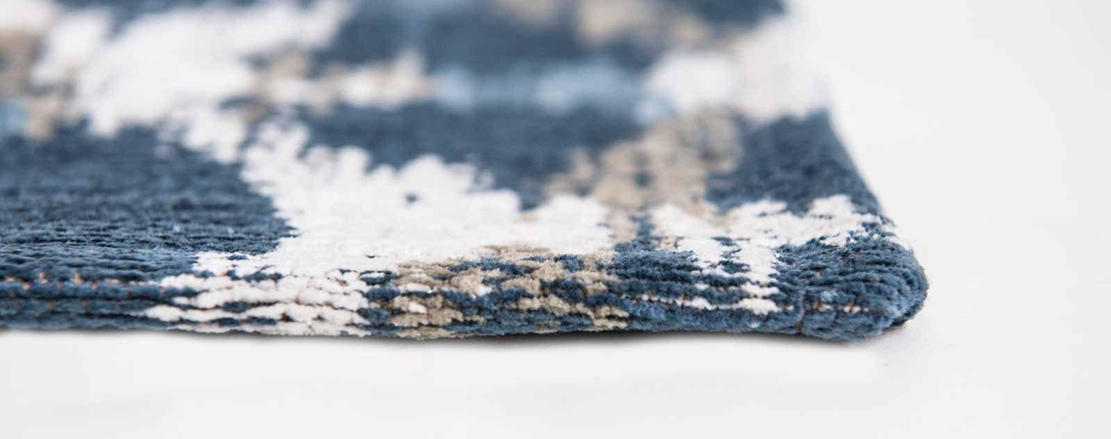 Louis De Poortere rugs Villa Nova LX 8750 Sudare Indigo side