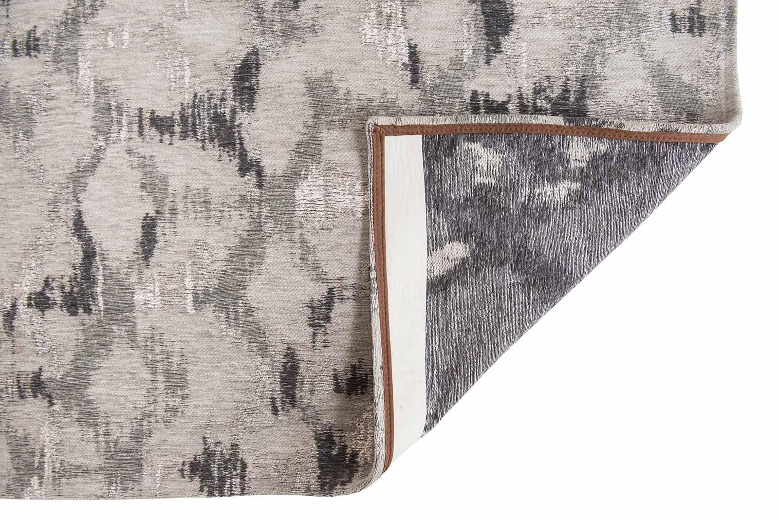 Louis De Poortere rugs Villa Nova LX 8753 Sudare Carbon back
