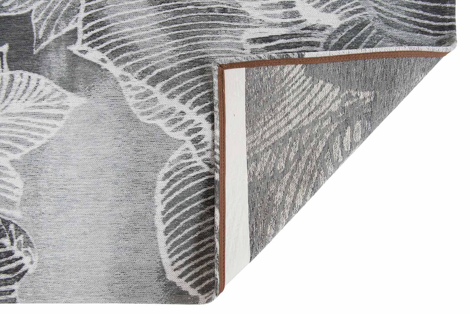 Louis De Poortere rugs Villa Nova LX 8755 Akina Carbon back