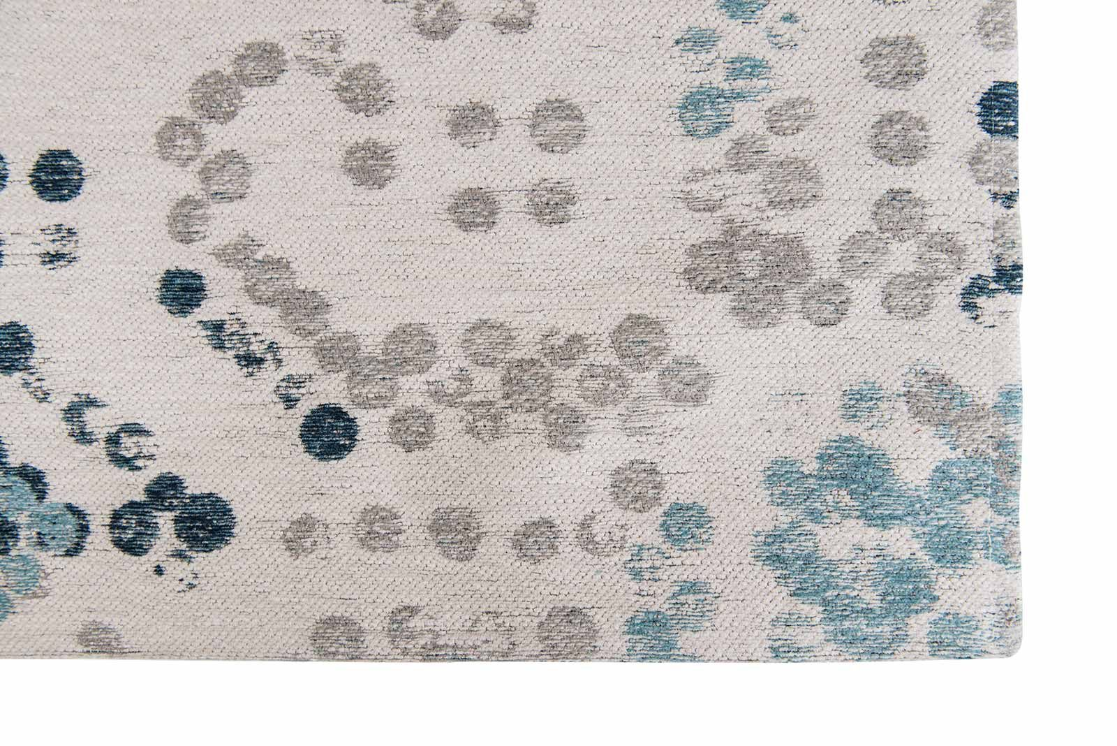 Louis De Poortere rugs Villa Nova LX 8762 Marit Indigo corner
