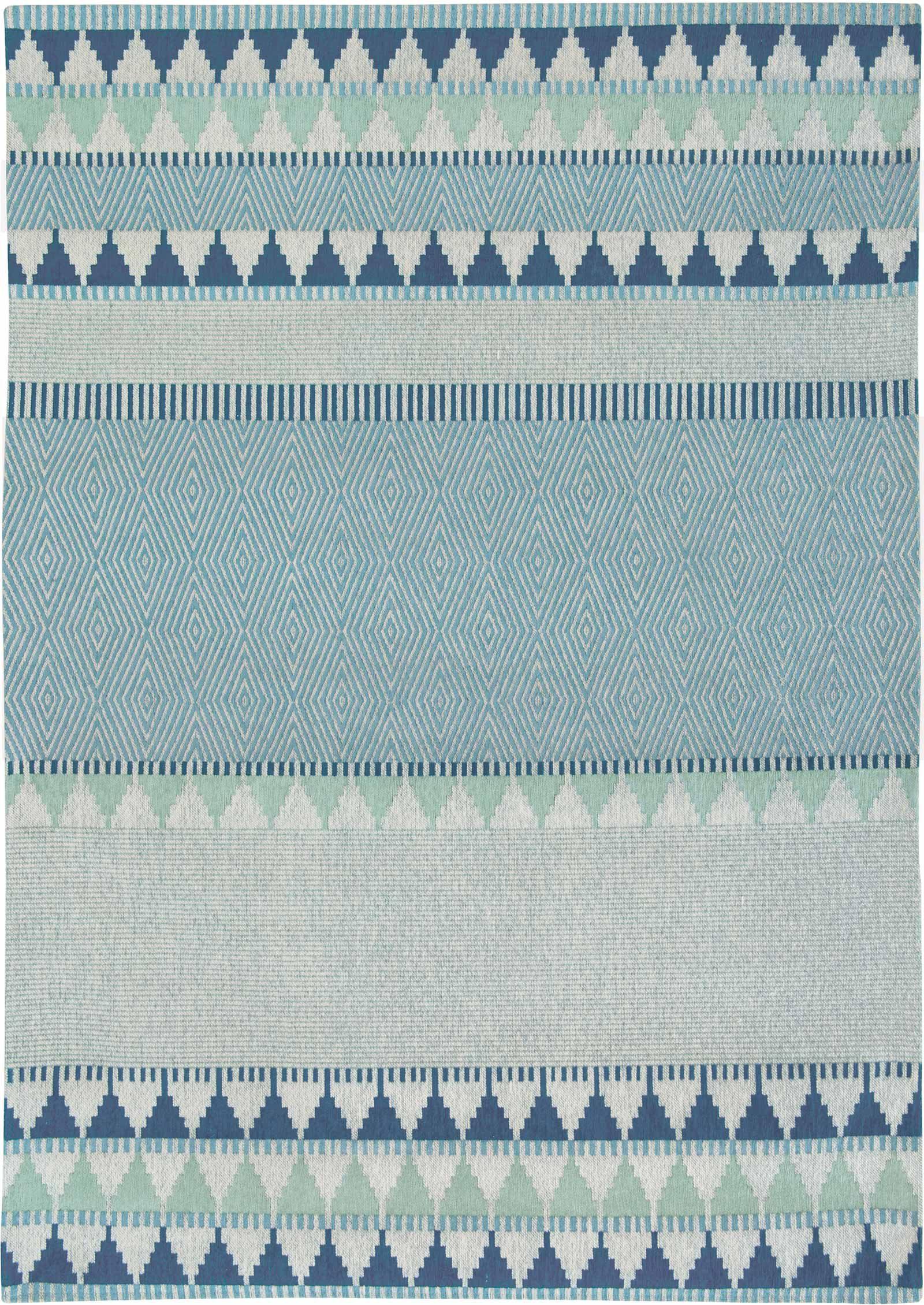 Louis De Poortere rugs Villa Nova LX 8766 Tobi Teal