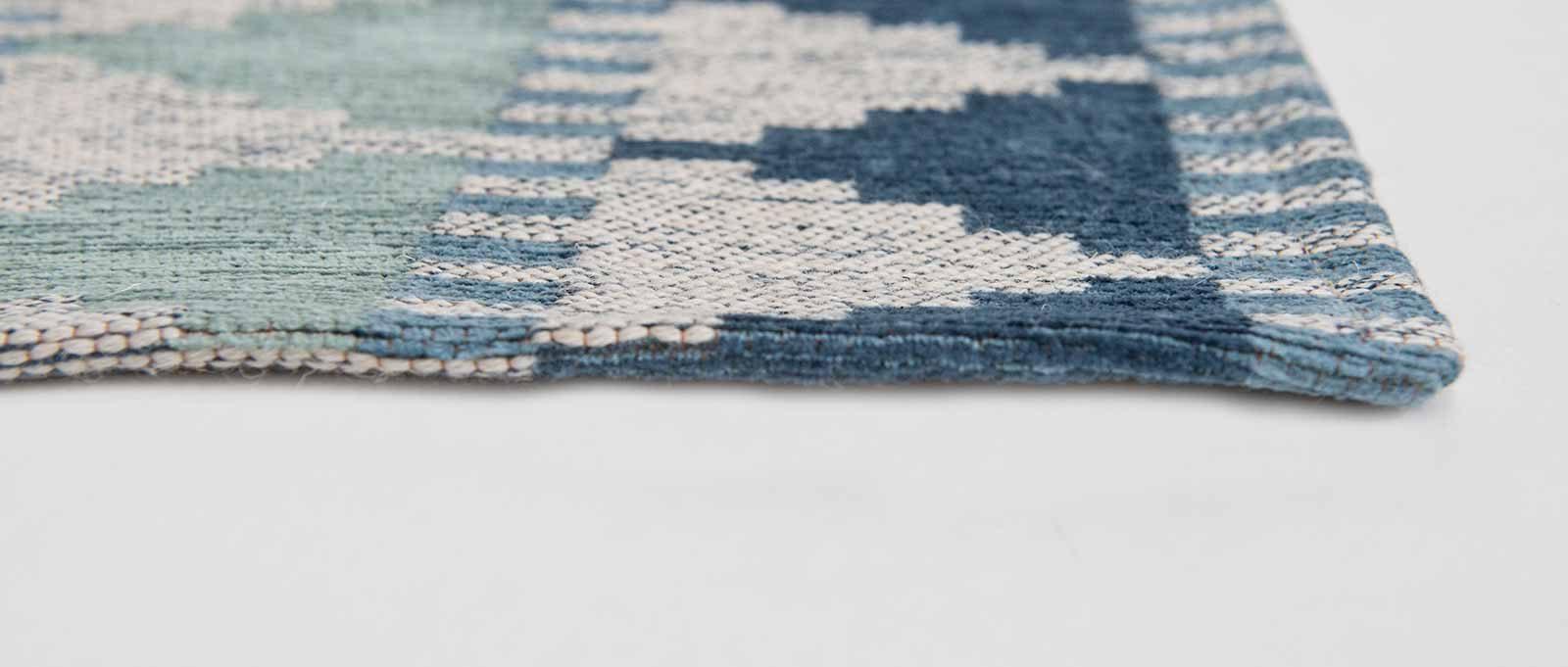 Louis De Poortere rugs Villa Nova LX 8766 Tobi Teal side