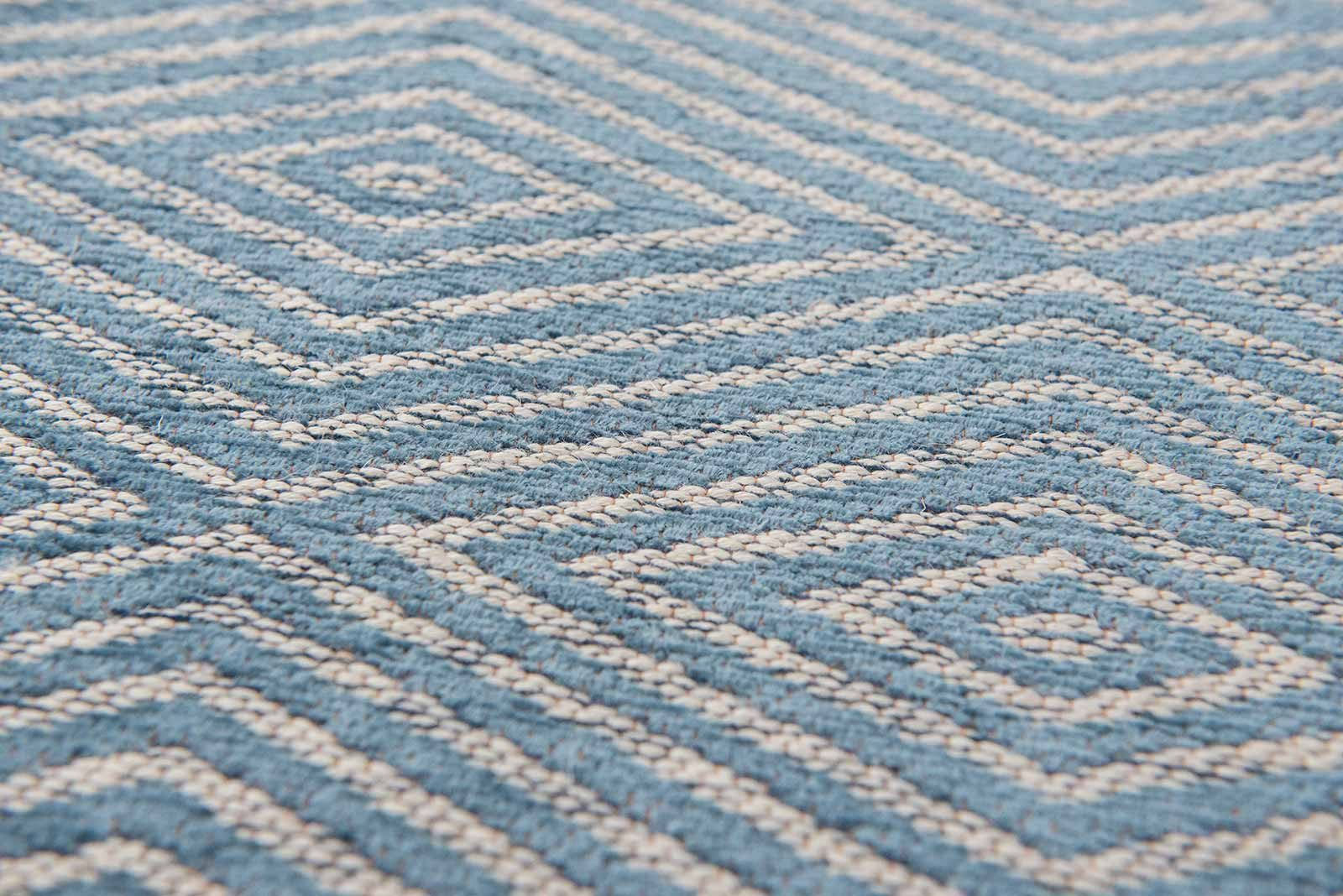 Louis De Poortere rugs Villa Nova LX 8766 Tobi Teal zoom 2