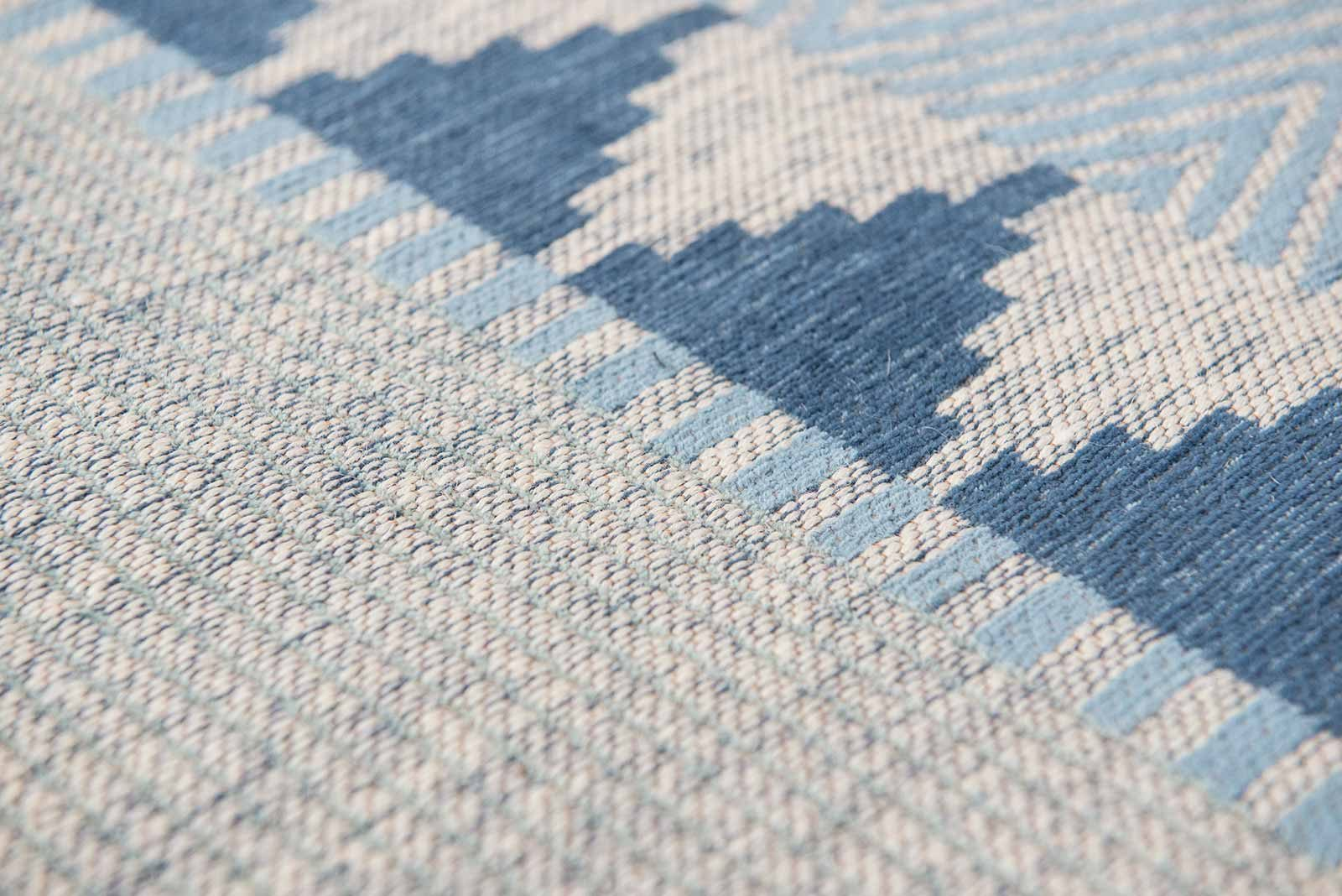 Louis De Poortere rugs Villa Nova LX 8766 Tobi Teal zoom 3