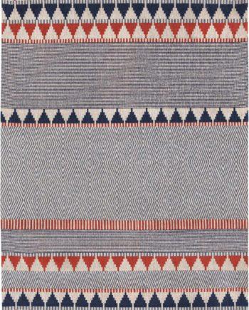 Louis De Poortere rugs Villa Nova LX 8767 Tobi Indigo Tabasco