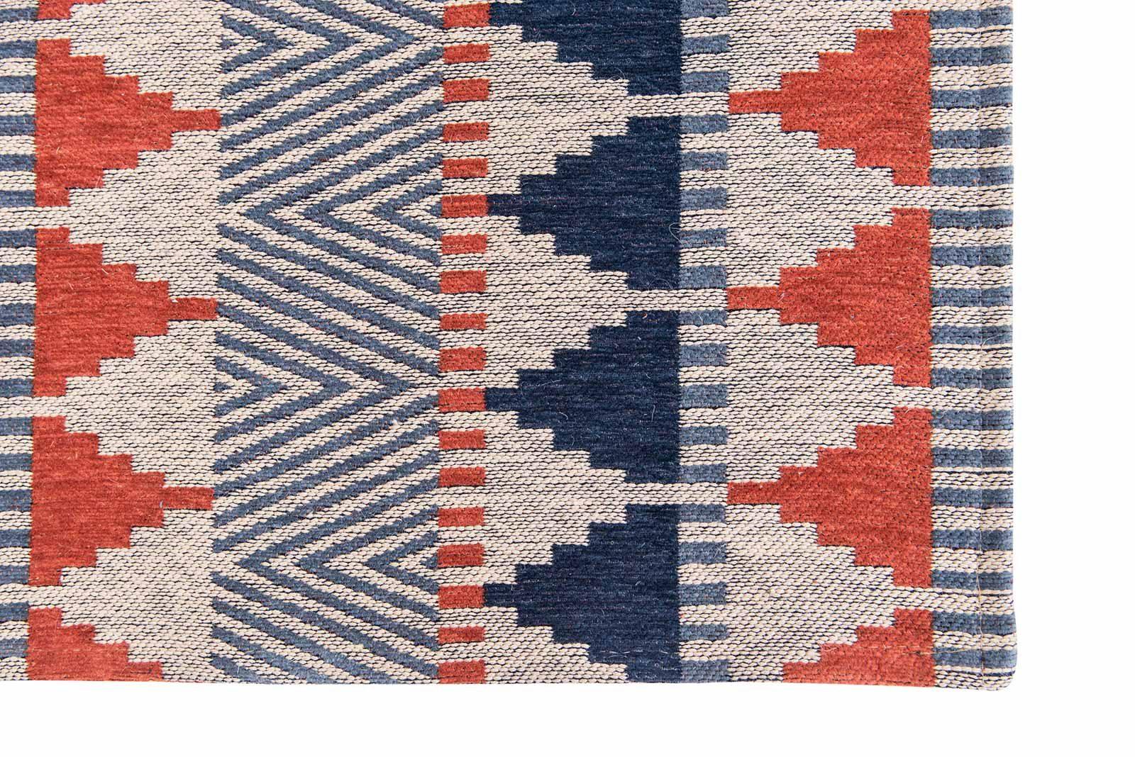 Louis De Poortere rugs Villa Nova LX 8767 Tobi Indigo Tabasco corner