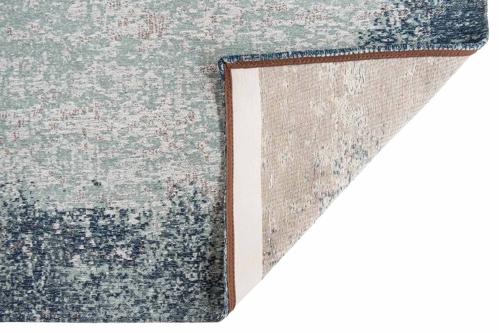 Louis De Poortere rugs Villa Nova LX 8769 Marka Teal back