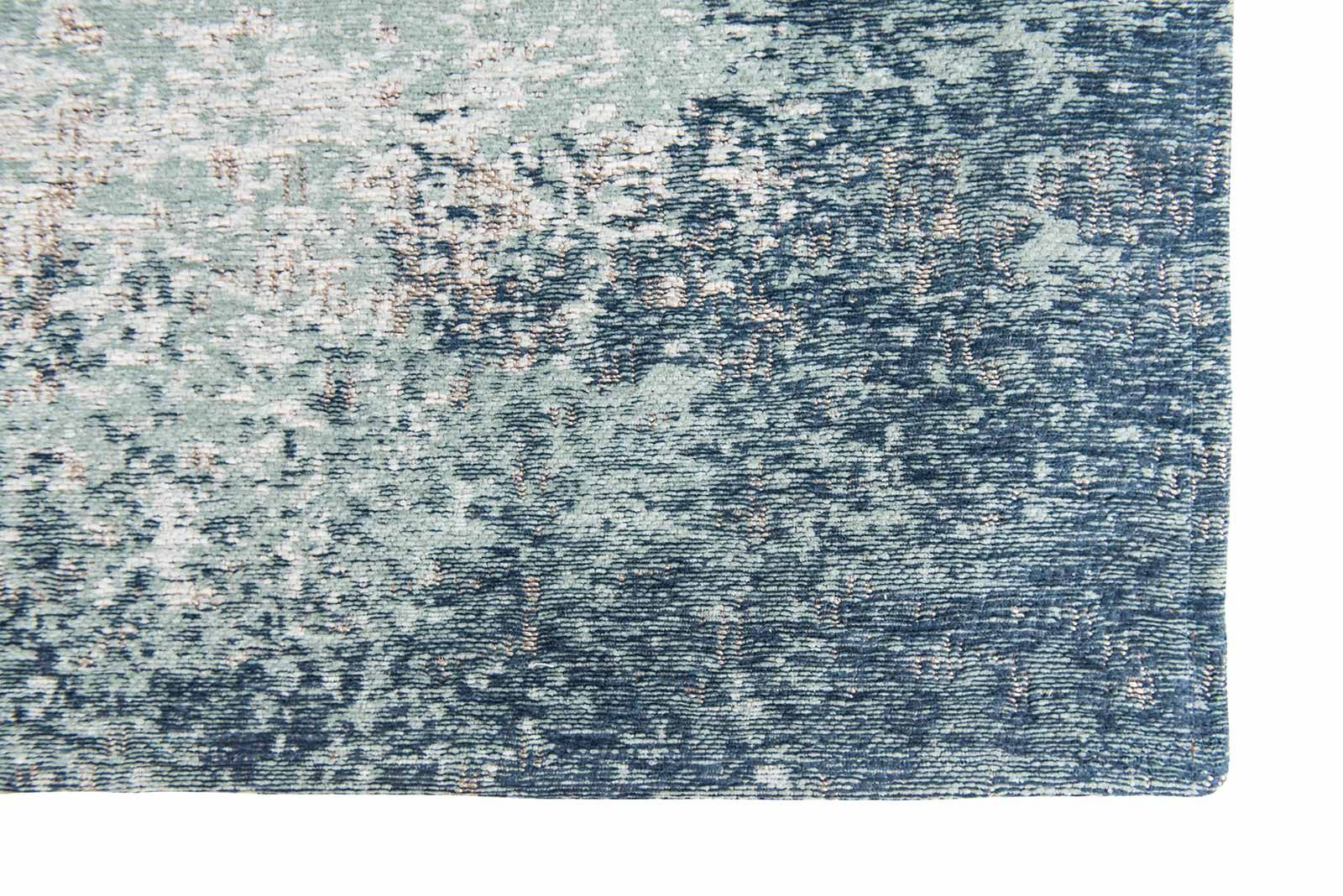 Louis De Poortere rugs Villa Nova LX 8769 Marka Teal corner