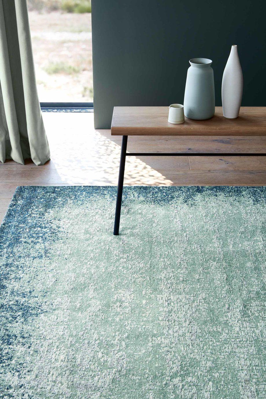 Louis De Poortere rugs Villa Nova LX 8769 Marka Teal interior