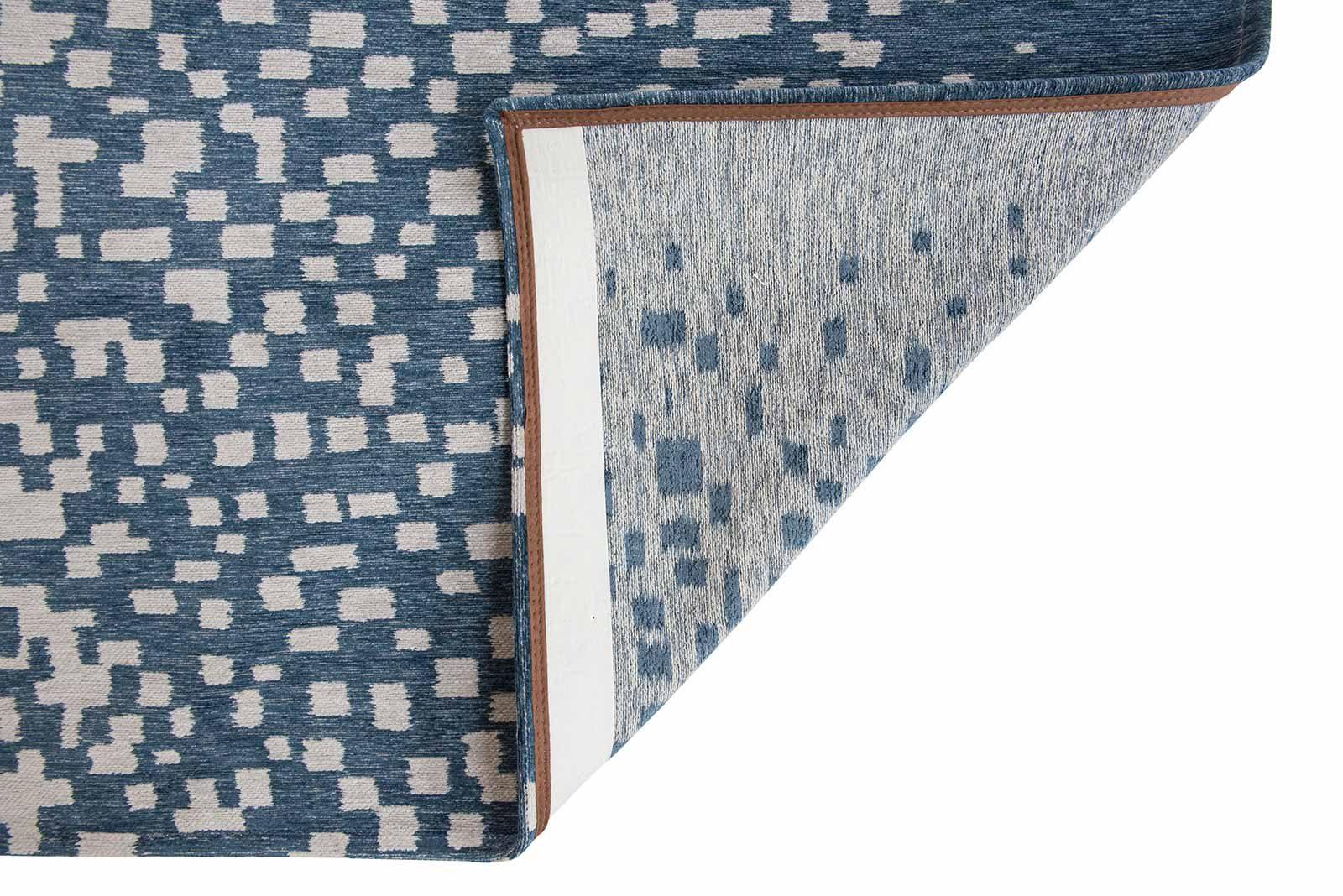Louis De Poortere rugs Villa Nova LX 8777 Freyr Indigo back