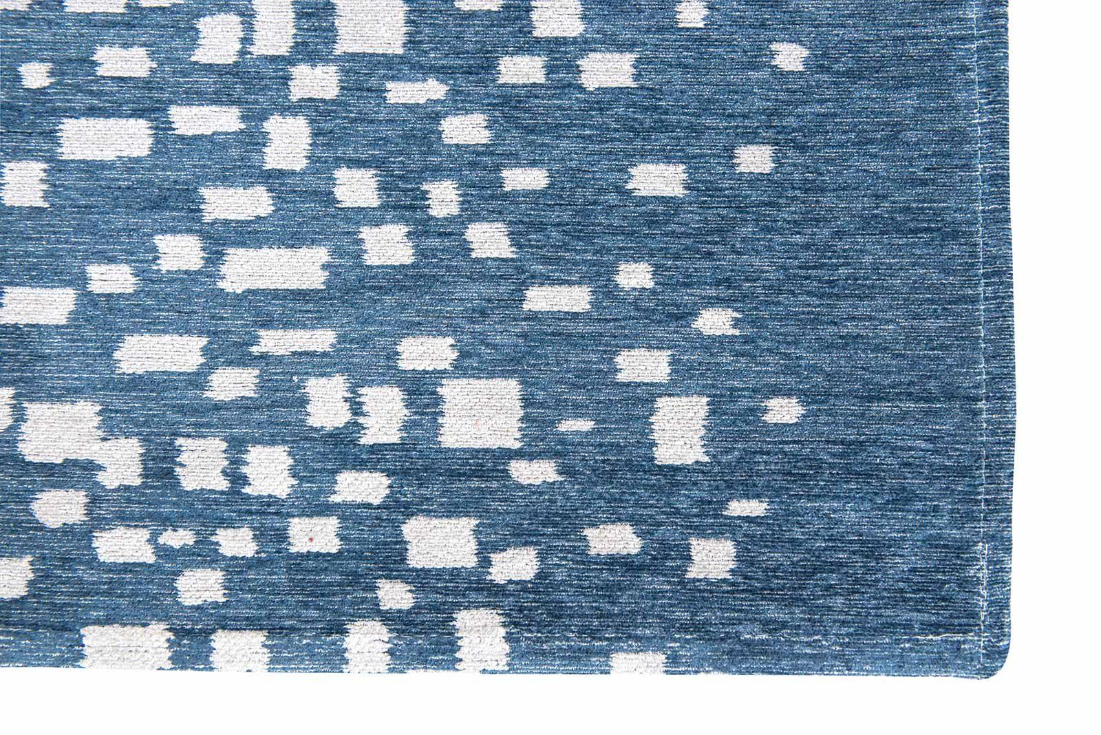 Louis De Poortere rugs Villa Nova LX 8777 Freyr Indigo corner