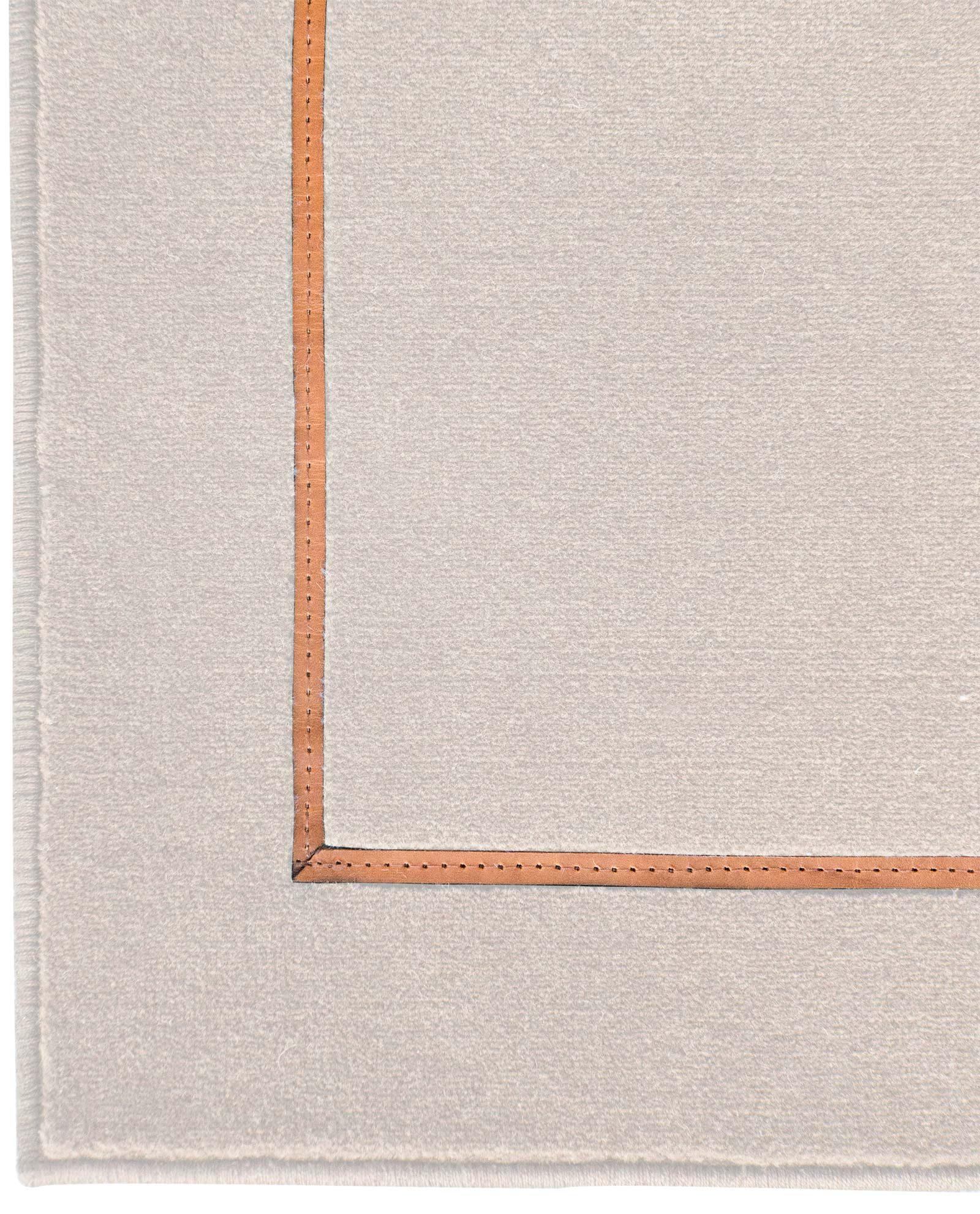 Louis De Poortere Wilton Rugs W Leather Richelieu Velours RV3 1079