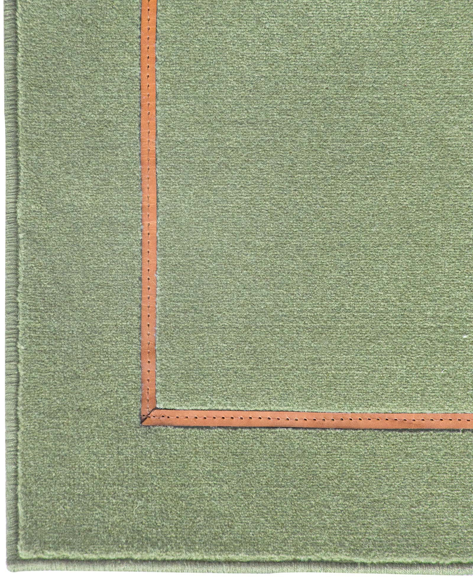 Louis De Poortere Wilton Rugs W Leather Richelieu Velours RV3 3004