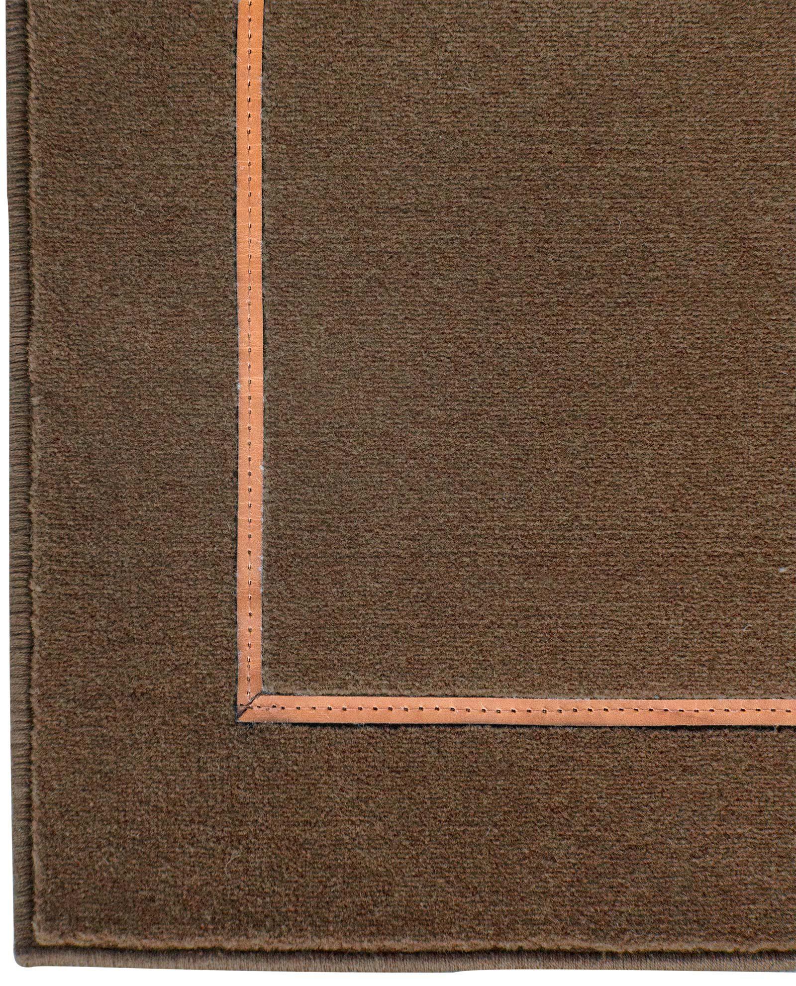 Louis De Poortere Wilton Rugs W Leather Richelieu Velours RV3 9519