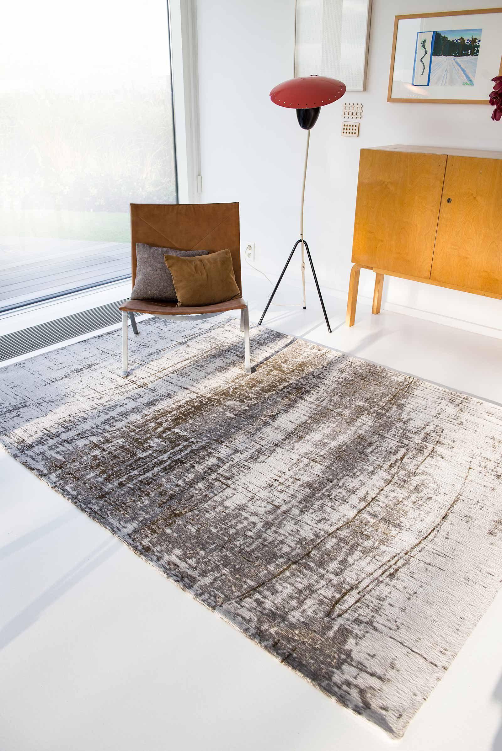 Louis De Poortere rug LX 8785 Mad Men Griff Concrete Jungle interior