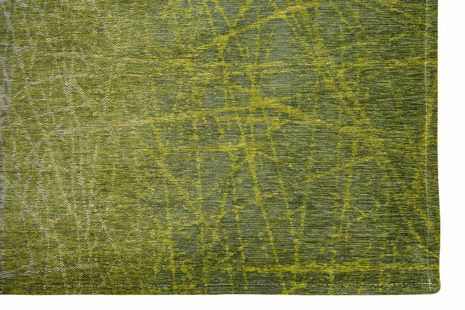 Louis De Poortere rug LX 8882 Mad Men Fahrenheit Central Park Green corner