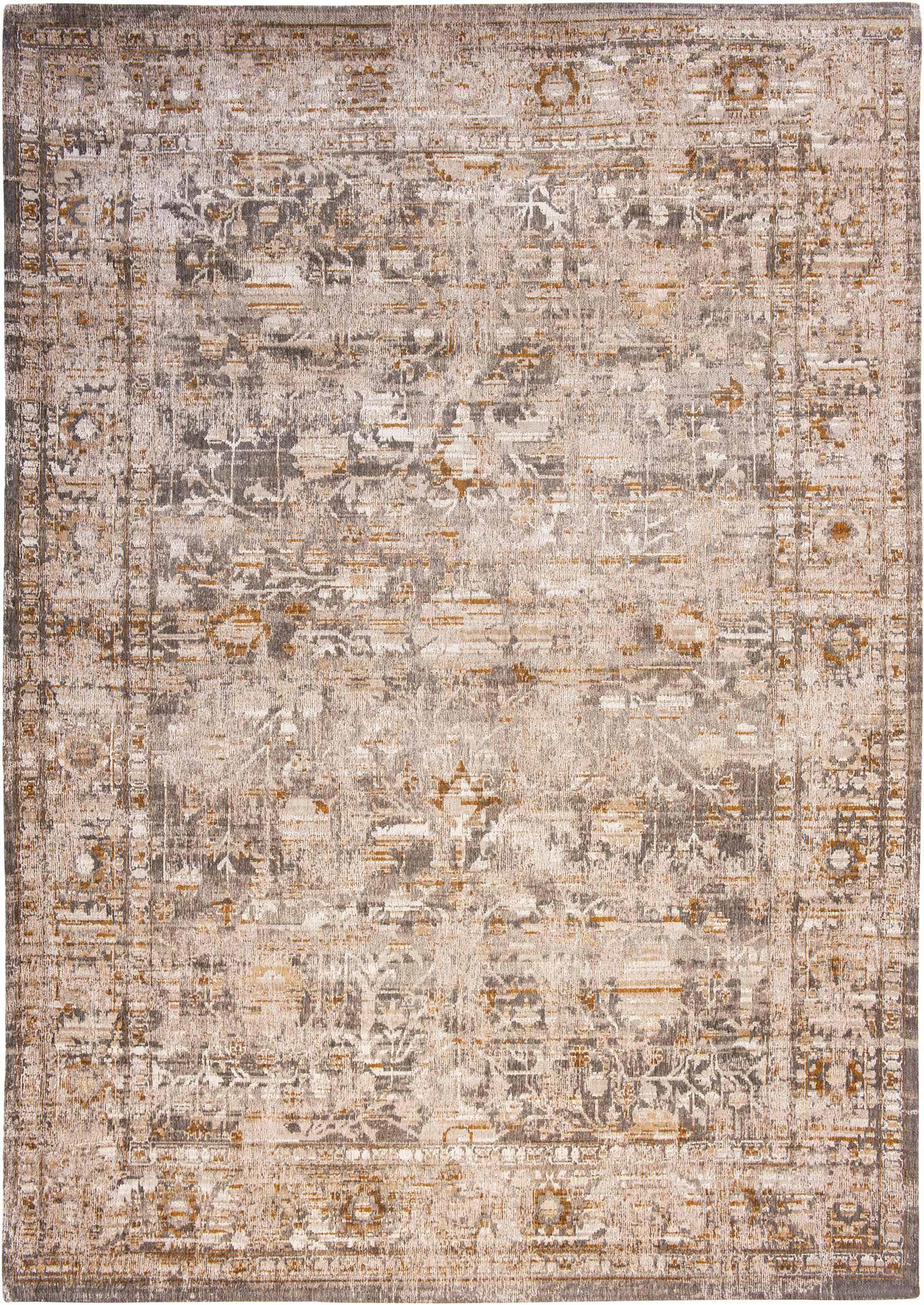 Louis De Poortere rug LX 8884 Antiquarian Ushak Suleiman Grey