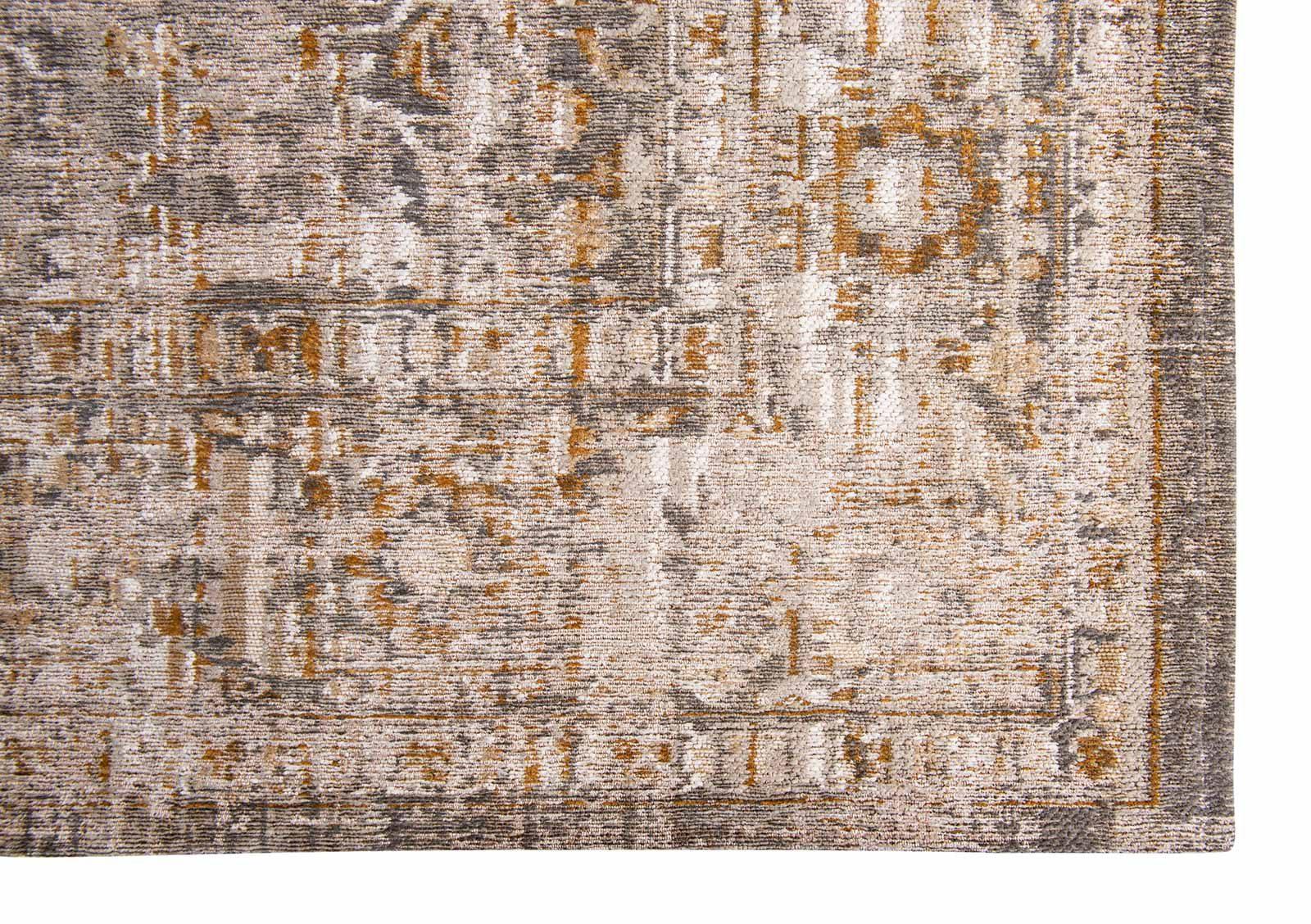 Louis De Poortere rug LX 8884 Antiquarian Ushak Suleiman Grey corner