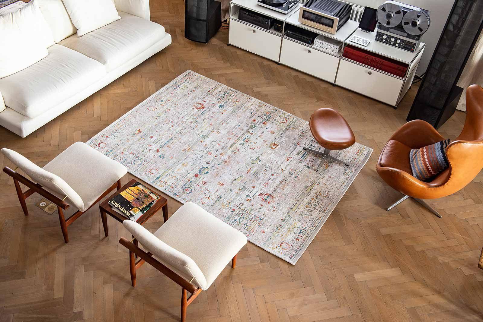 Louis De Poortere rug LX 8894 Antiquarian Ushak Turkish Delight interior 2