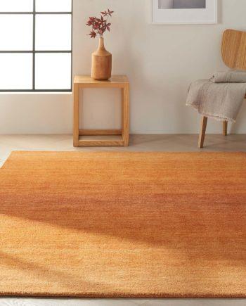 Calvin Klein rug Linear Glow CK206 GLO01 CUMIN 5x8 099446136794 interior 1