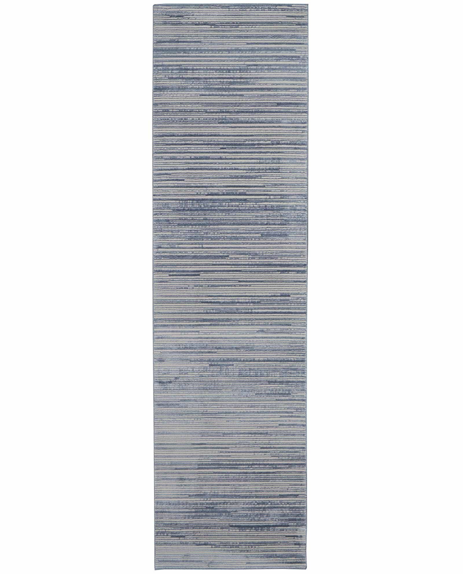 Calvin Klein rug Orlando CK850 CK851 BLUE 2x8 099446487742 flat