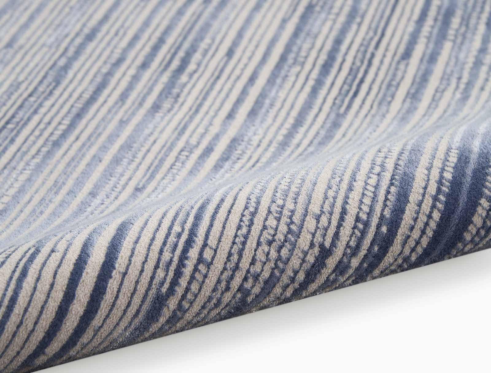 Calvin Klein rug Orlando CK850 CK851 BLUE 5X7 099446487797 alt3 C