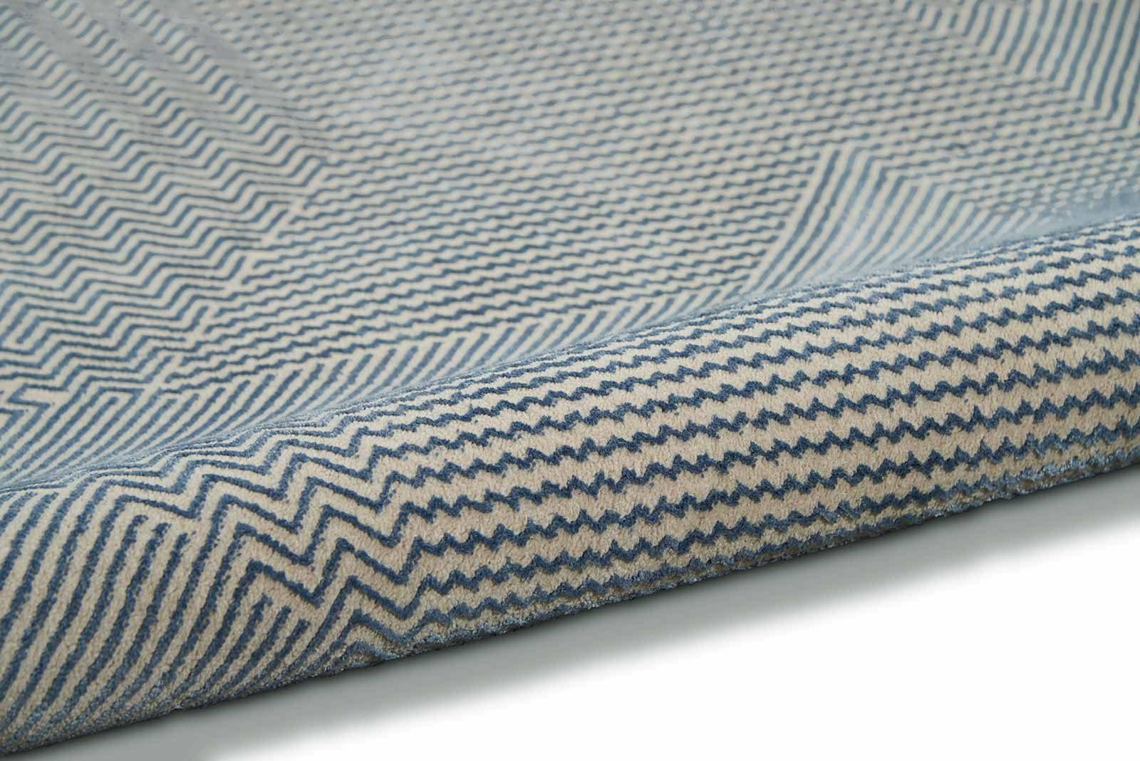 Calvin Klein rug Orlando CK850 CK852 GREY BLUE 2x8 099446488169 tx1