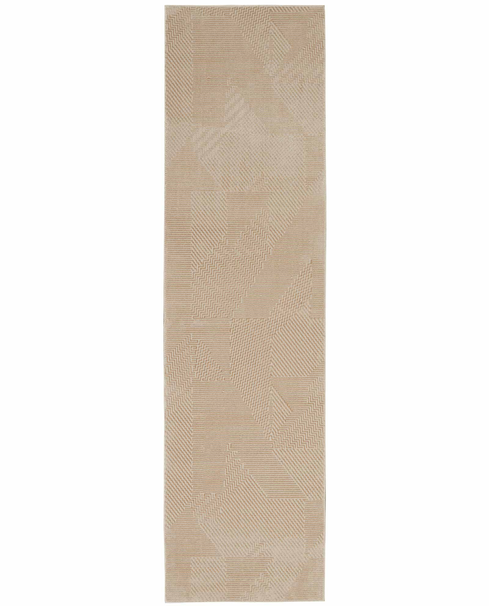 Calvin Klein rug Orlando CK850 CK852 GREY SAFFRON 2x8 099446488077 flat