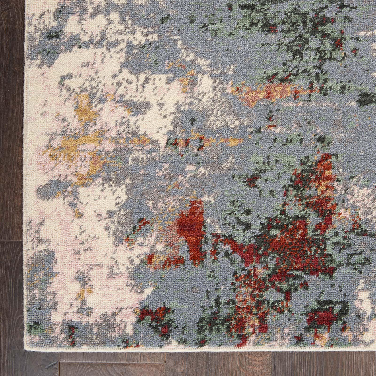 Nourison rug Artworks ATW01 SLTMT SLATE MULTI 8X10 099446709103 CR C